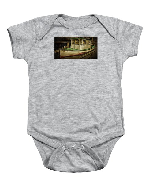 The Old Fishing Boat Baby Onesie