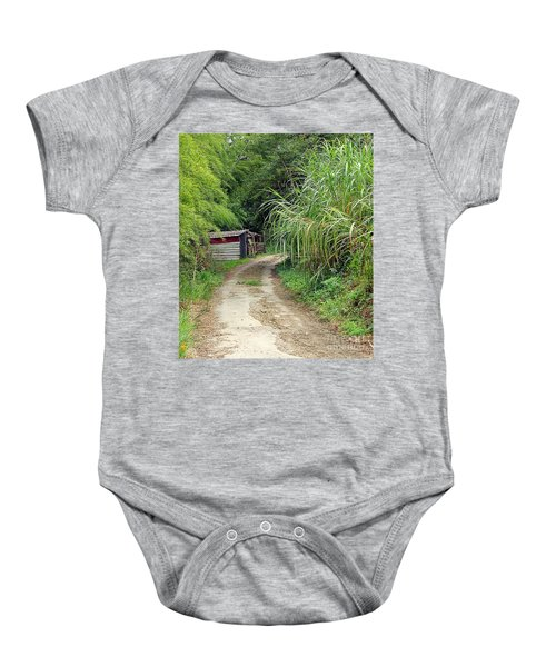 The Old Forest Road Baby Onesie