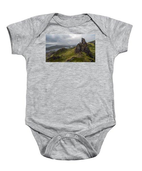 The Old Man Of Storr, Isle Of Skye, Uk Baby Onesie