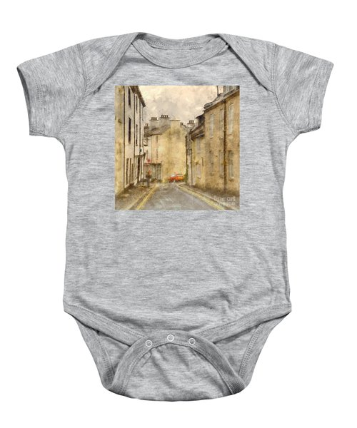 The Old Part Of Town Baby Onesie