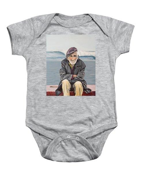 The Old Waterman Baby Onesie