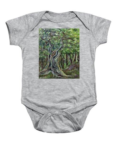 The Om Tree Baby Onesie