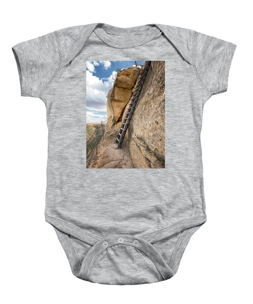 The Only Way Out Baby Onesie