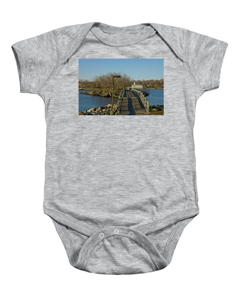 The Other Side Baby Onesie