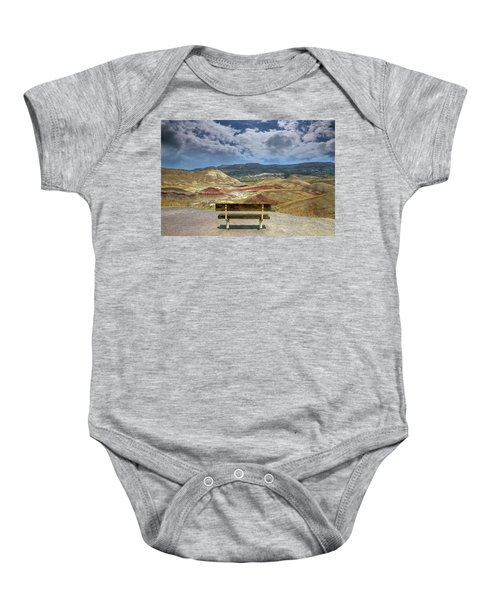The Overlook At Painted Hills In Oregon Baby Onesie