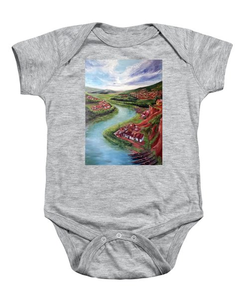 The Overview Baby Onesie