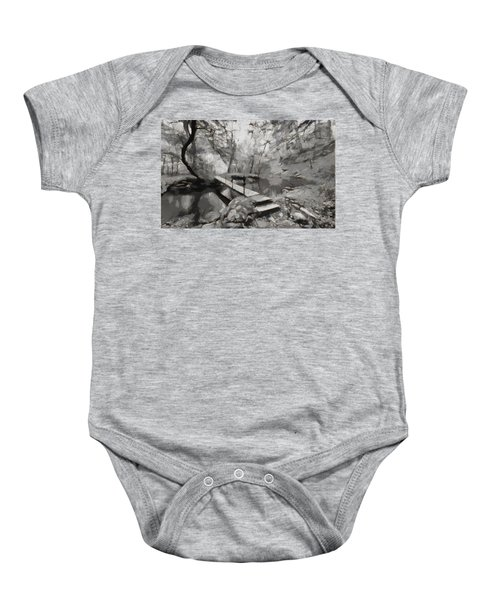 The Path To Nirvana Baby Onesie