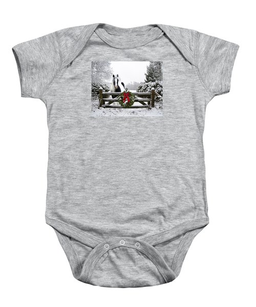 The Perfect Christmas Baby Onesie