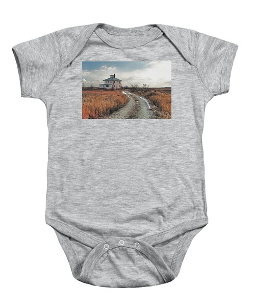 The Pink House Baby Onesie