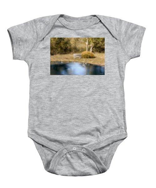 The Pond Baby Onesie