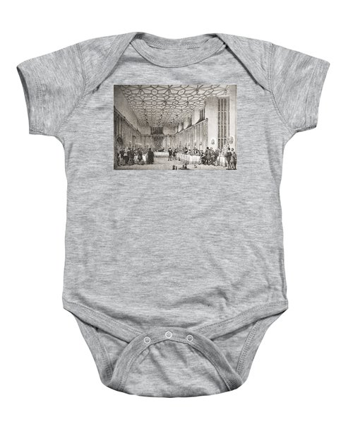 The Presence Chamber, Hampton Court Baby Onesie