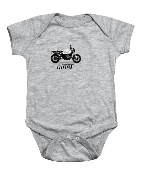 The R Nine T Baby Onesie by Mark Rogan
