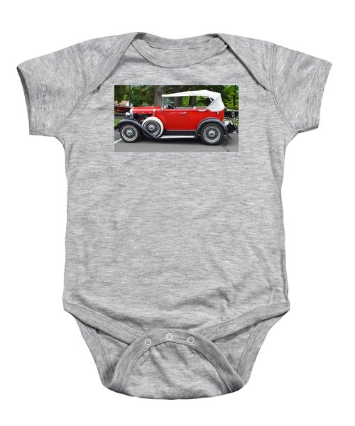 The Red Convertible Baby Onesie