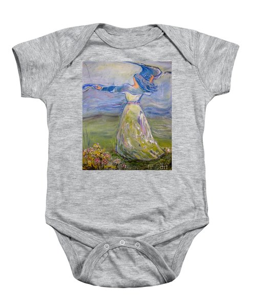 The River Is Here Baby Onesie