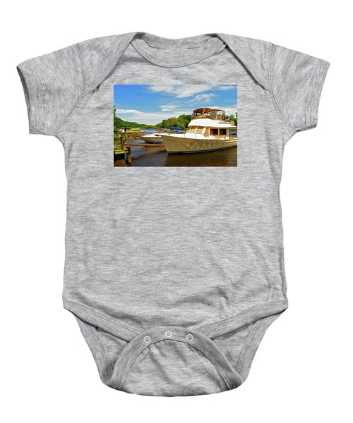 The Rondout At Eddyville Baby Onesie