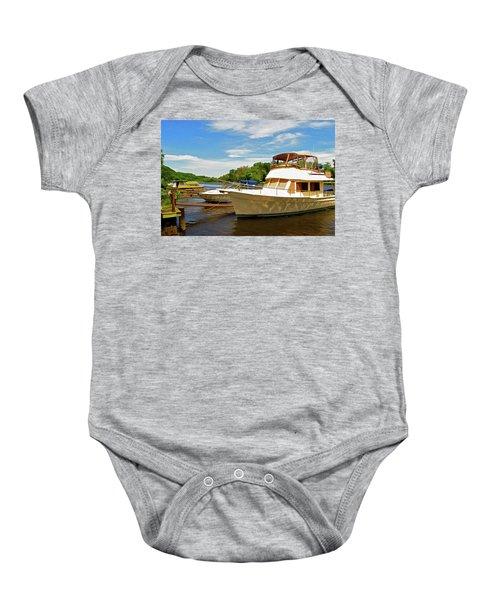 The Rondout At Eddyville Baby Onesie