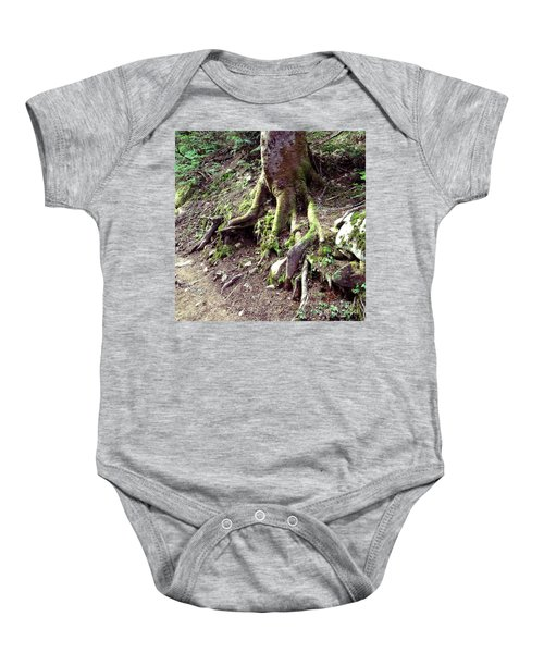 The Root Of The Matter Baby Onesie