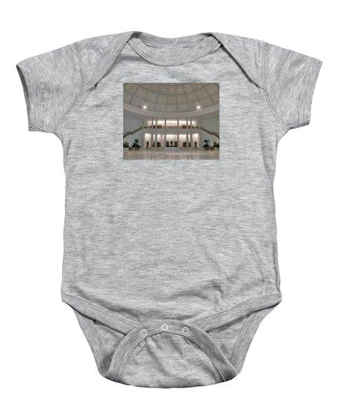 The Rotunda 8 X 10 Crop Baby Onesie