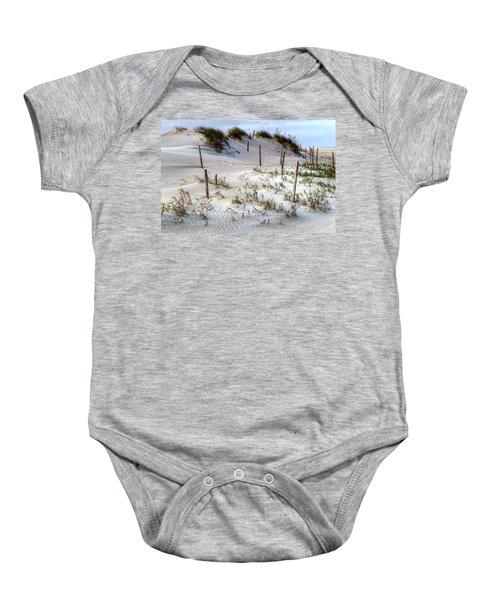 The Sands Of Obx Hdr II Baby Onesie