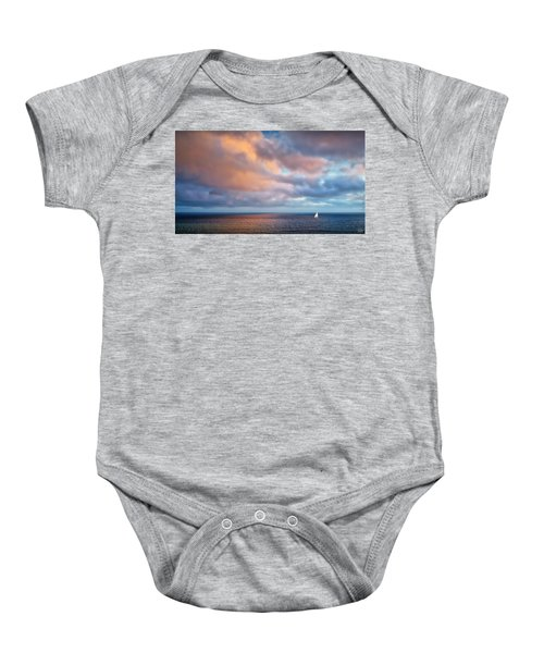 The Sea At Peace Baby Onesie
