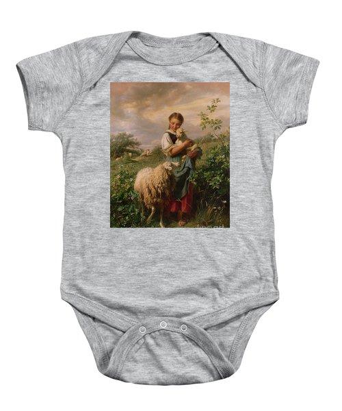 The Shepherdess Baby Onesie