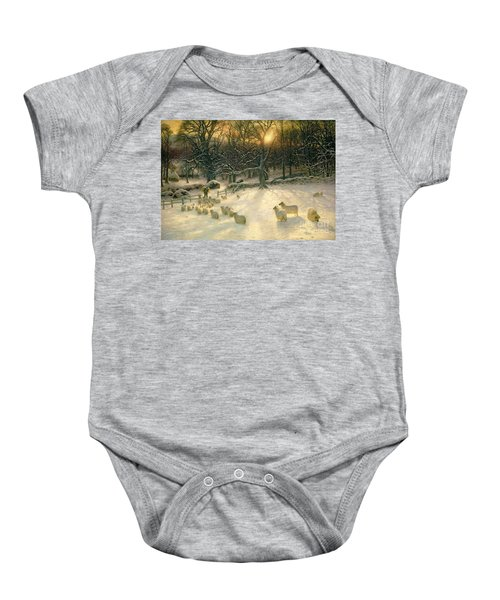 The Shortening Winters Day Is Near A Close Baby Onesie