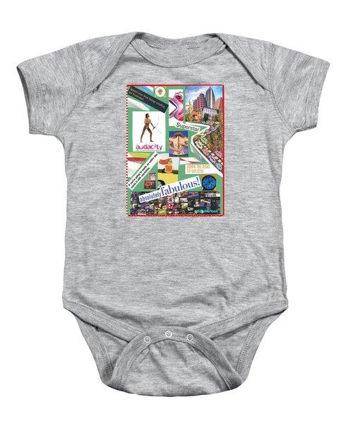 The Silly Side Of Life Baby Onesie