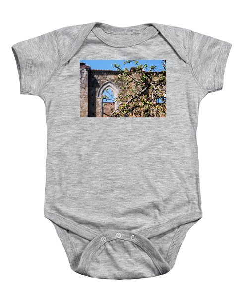 The Sky As A Roof Baby Onesie