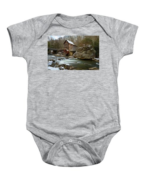 The Splendor Of West Virginia Baby Onesie