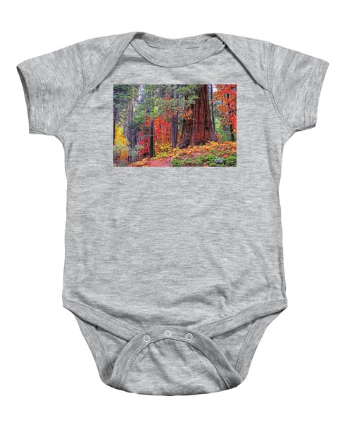The Small And The Mighty Baby Onesie