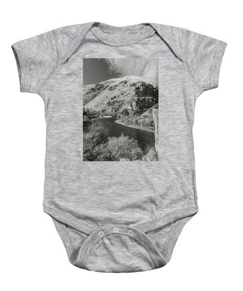 South Fork Boise River 3 Baby Onesie