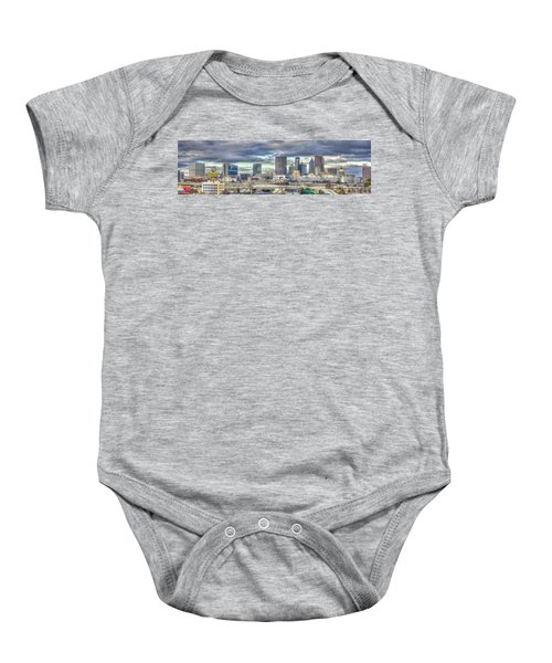 The Southern Lady Atlanta Art Cityscape  Baby Onesie