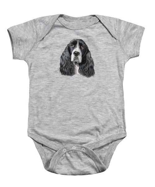 The Springer Spaniel Baby Onesie