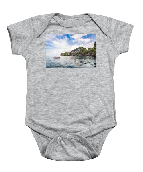 The Stunning  Koh Mook In The Trang Island Baby Onesie