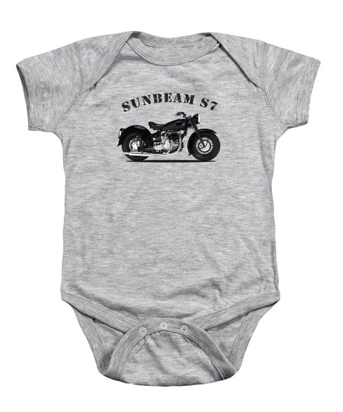 The Sunbeam S7 Baby Onesie