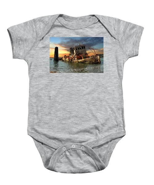 The Sunset Years Of The Mary D. Hume Baby Onesie