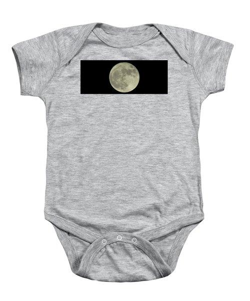 The Super Moon 3 Baby Onesie