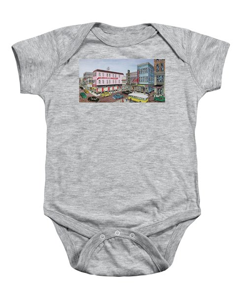 The Theater District Portsmouth Ohio 1948 Baby Onesie