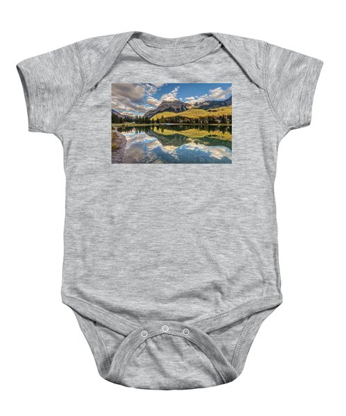 The Town Of Field In British Columbia Baby Onesie