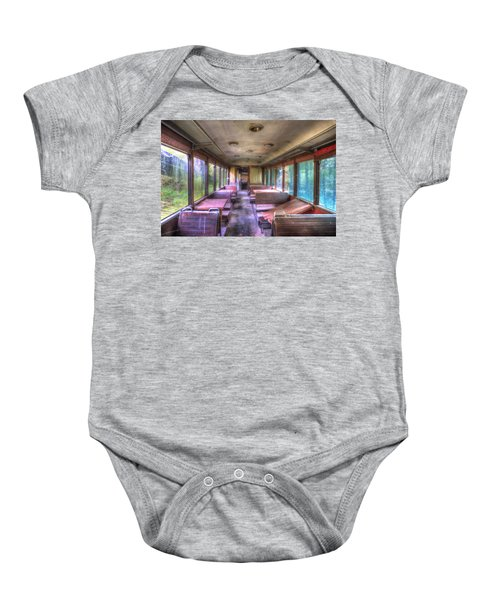 The Tram Leaves The Station... Inside Baby Onesie