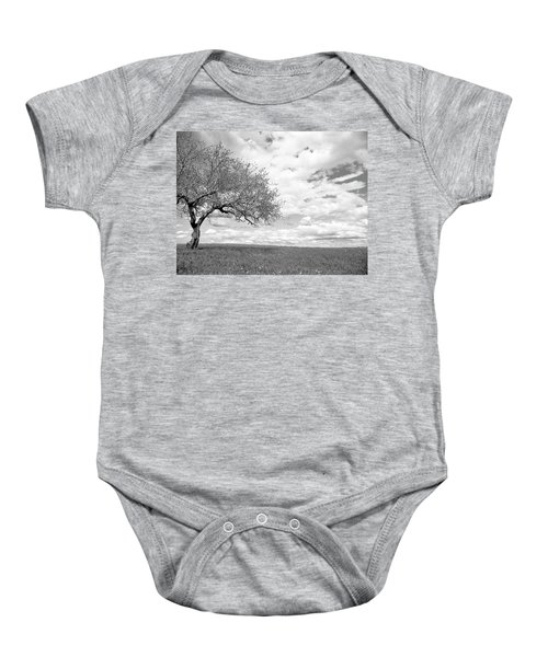 The Tree On The Hill Baby Onesie