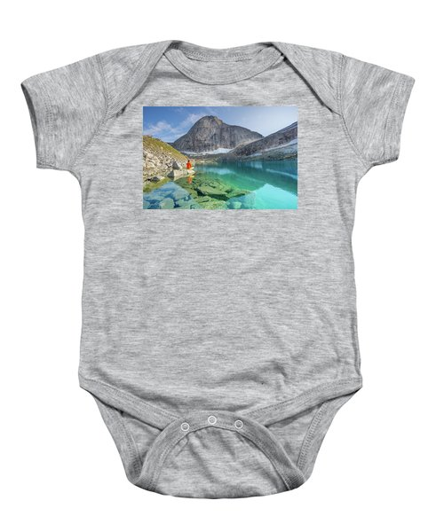 The Turquoise Lake Baby Onesie
