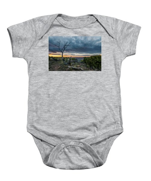 The Unfolding Drama Baby Onesie