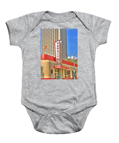 The Varsity Frontdoor Atlanta Georgia Landmark Art Baby Onesie