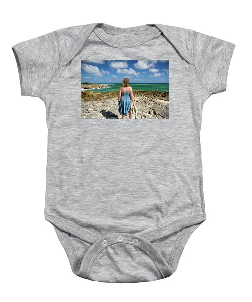 The View Baby Onesie