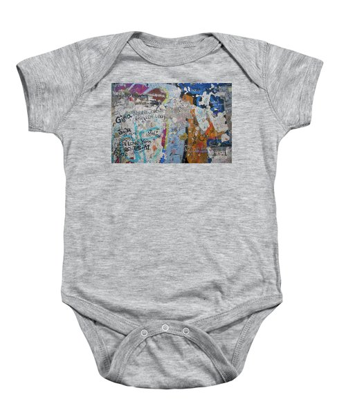 The Wall #10 Baby Onesie
