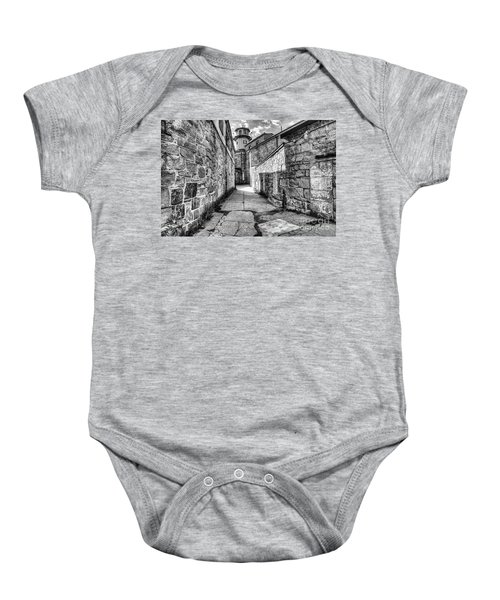 The Watch Tower Eastern State Penitentiary Baby Onesie