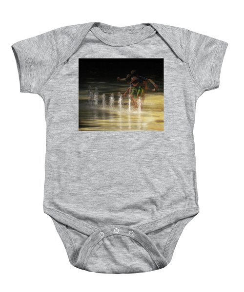 The Water Maestro  Baby Onesie