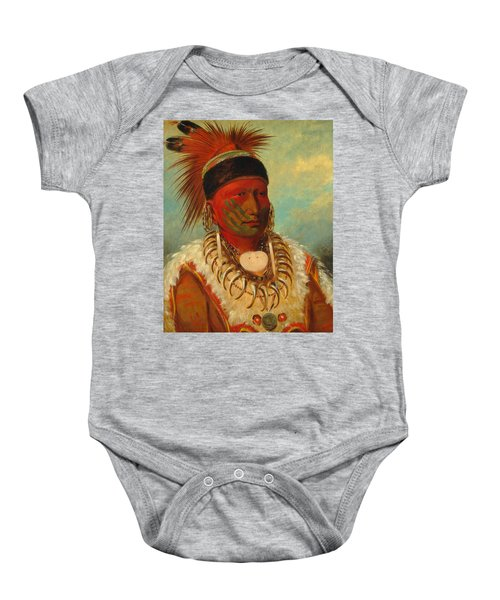 The White Cloud, Head Chief Of The Iowas Baby Onesie