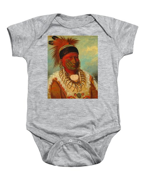 The White Cloud, Head Chief Of The Iowas Baby Onesie